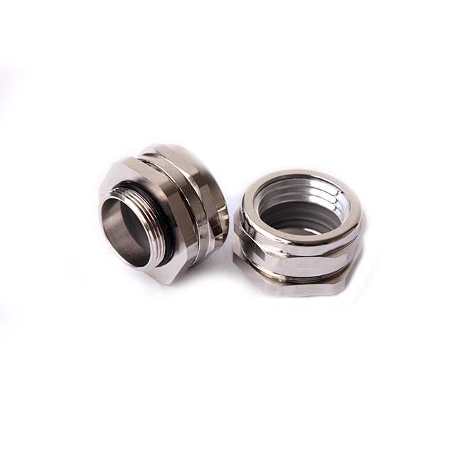 Nickel-plated Brass Connector